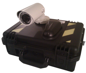 RDWC with Camera Cellular Modem with Cellular Antenna and Night Vision Camera Mounted (Click Image to View Larger Version)