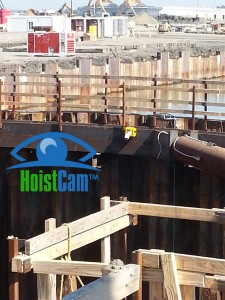 HoistCam Attached to Side of Excavator Dig Hole