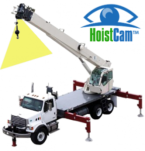 Location of HoistCam Repeater on Boom Tip