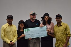 First Place Winners - Team NASA from ODU / Netarus Analytics Challenge Summer 2016